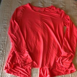 Gap open back gapfit long sleeved top